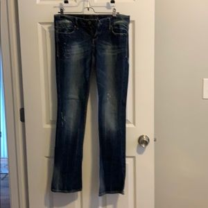 Express Jeans Size 2R Boot Cut